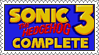Sonic 3 Complete Stamp by LoveAnimeAndCartoons