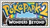 PokePark 2: Wonders Beyond Stamp by LoveAnimeAndCartoons