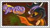 Spyro the Dragon Stamp by LoveAnimeAndCartoons