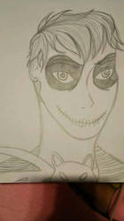 Nath as Jack Skellington by Piiiiikachu