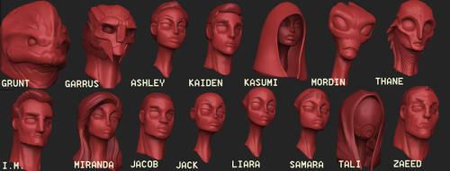 Mass Effect Quickiez Part 1 by Tha-Pixel-Peanut