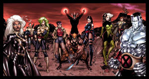 X-Men by Jim Lee, My tribute. by iergoth