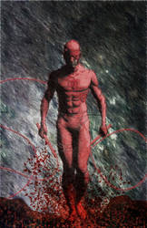Daredevil Pin-up by iergoth