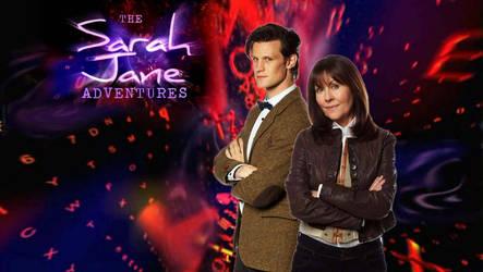 11th Doctor and Sarah Jane by ElijahVD
