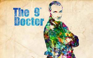 9th Doctor: Watercolor by ElijahVD