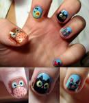 Animals nails by ItsMyUsername