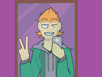 mirror selfies -eddsworld by Mother-ofEarth