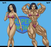 Super Mom by ikura-maru