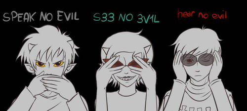 HS - No Evil by MasterFranny