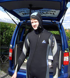 Me in Wetsuit for Diving by Banane9