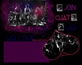 Guild Layout Jonas Brothers by ciitylightss