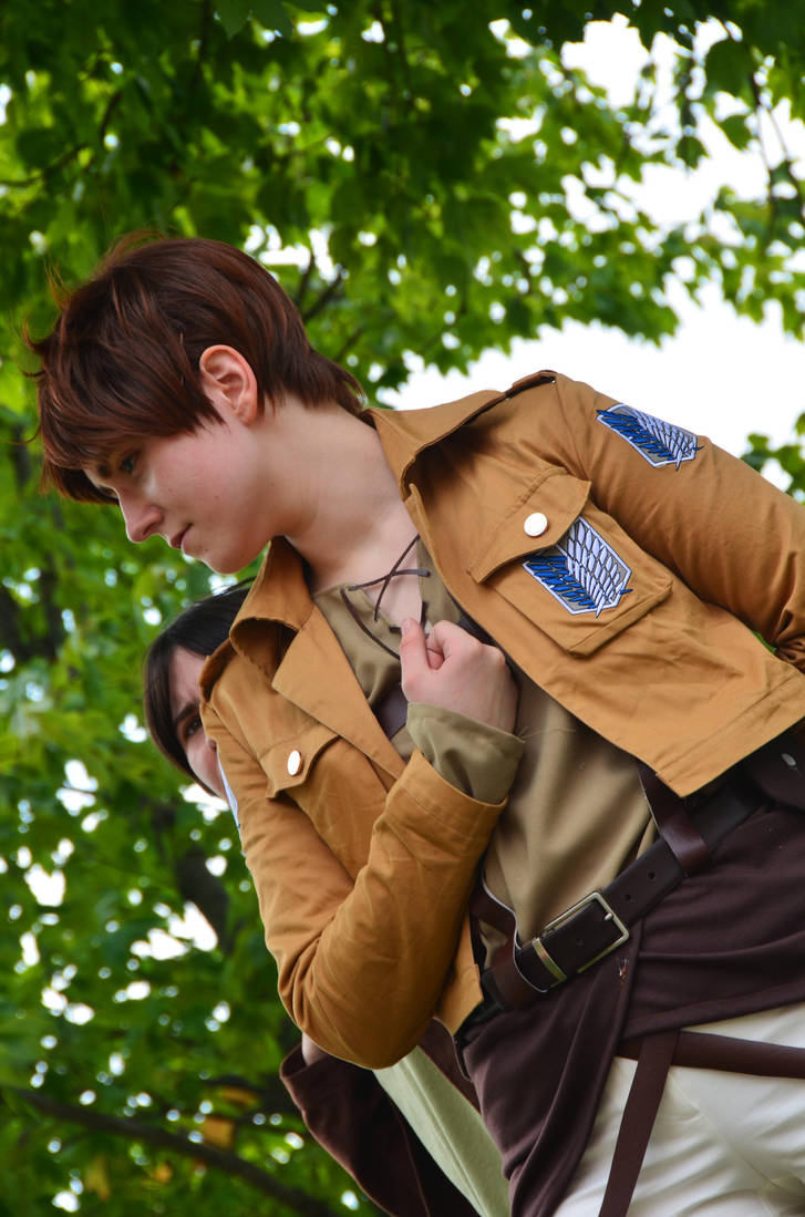 Attack on Titan - Eren Close Up by Wingedisis16