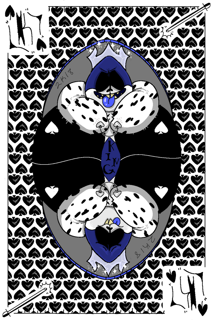 King Spade Kaard King Of Spades By Megatroniqu On Deviantart