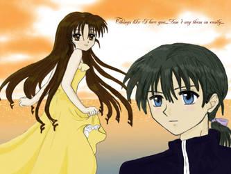 Mitsuki and Takuto by Nikkou