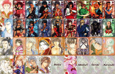 Fushigi Yuugi Warriors 2 by simsim2212