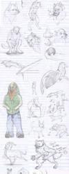 Sketch Dump of Epic Proportions by Mizana