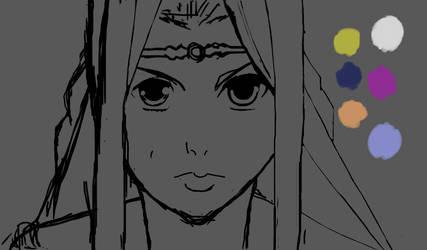 Renda: Guin Saga (Rough Sketch #1) by zaknathein