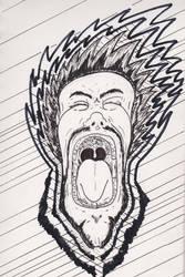Frustrated Scream by zaknathein