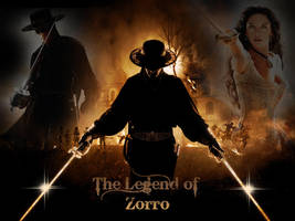 the legend of zorro by SylvieDB