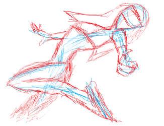 D.va - Overwatch Sketch by marcoshypnos