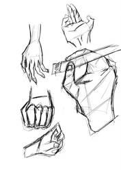 Hands Training by marcoshypnos