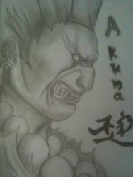 Akuma - Street Fighter by marcoshypnos