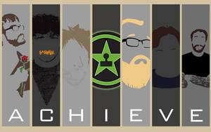 Achievement Hunter Wallpaper by aleco247