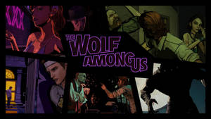 The Wolf Among Us all episodes background by aleco247
