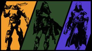 Destiny Classes Poster by aleco247