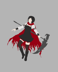 RWBY Ruby (concept) by OurooborusART