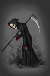 Grim Reaper by OurooborusART