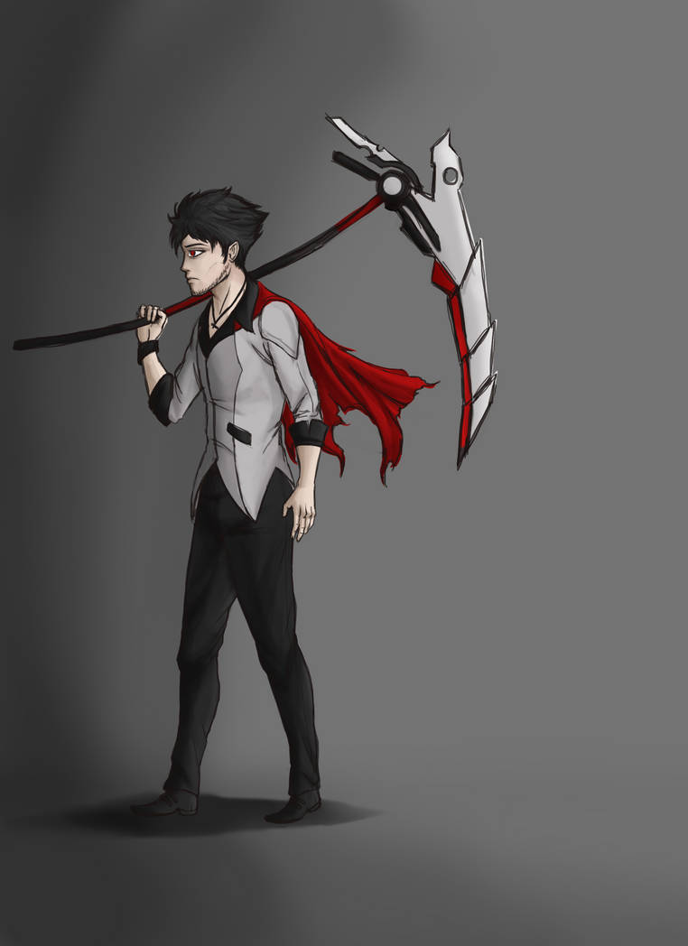 RWBY Qrow-sketch by OurooborusART