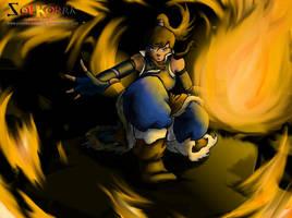 Korra FireBender Master by SolKorra