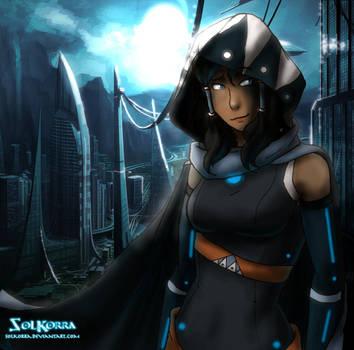 Korra of The Future by SolKorra