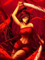 Red Assassin by SolKorra