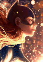 #004 Batgirl by SolKorra