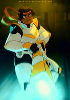 Hunk Ready for Fight! by SolKorra