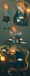 Hermione X Pidge by SolKorra