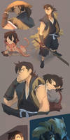 Shiro And Keith X Sword Of The Stranger by SolKorra
