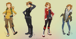 Pidge x Paladins Outfits by SolKorra