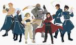 Voltron Legendary Defender x FMA Brotherhood by SolKorra