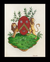 coat of arms by zebabeth