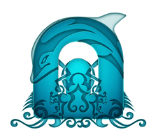 Egyptian Dolphin Project Logo by samehfahmy