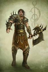 Satirik Warlord by DusanMarkovic