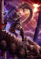 Twilight of the Thunder God by DusanMarkovic