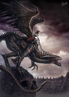 Rider of Damnation by DusanMarkovic