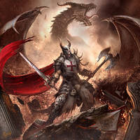 Knight of Doom by DusanMarkovic