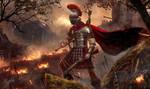 Roman Hunter, wallpaper by DusanMarkovic