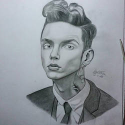 Andy Biersack by Lonnie-Collins