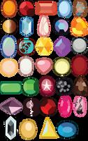 Gemsona Gems by CraftyKenzie